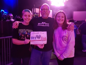 Franklin attended Back to the Eighties Show With Jessie's Girl - Undefined on Sep 21st 2018 via VetTix