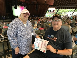 Neil and Jan attended Rascal Flatts Back to the US Tour 2018 on Aug 17th 2018 via VetTix