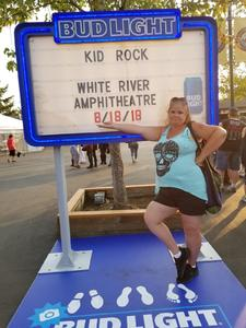 Mary attended Kid Rock: Red Blooded Rocknroll Redneck Extravaganza - Pop on Aug 18th 2018 via VetTix