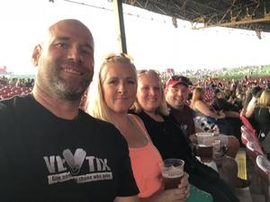Corey attended Kid Rock: Red Blooded Rocknroll Redneck Extravaganza - Pop on Aug 18th 2018 via VetTix