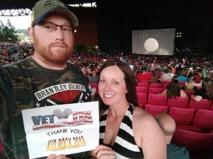 Josh attended Kid Rock: Red Blooded Rocknroll Redneck Extravaganza - Pop on Aug 18th 2018 via VetTix