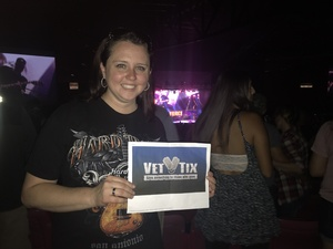 Jeanna attended Kid Rock: Red Blooded Rocknroll Redneck Extravaganza - Pop on Aug 18th 2018 via VetTix