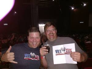 Mark attended Kid Rock: Red Blooded Rocknroll Redneck Extravaganza - Pop on Aug 18th 2018 via VetTix