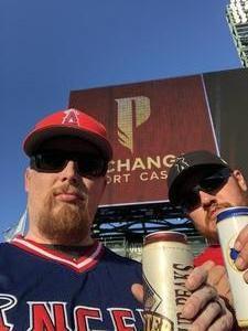 Bryan attended Los Angeles Angels vs. Colorado Rockies - MLB on Aug 27th 2018 via VetTix