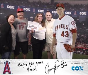 Vance attended Los Angeles Angels vs. Colorado Rockies - MLB on Aug 27th 2018 via VetTix