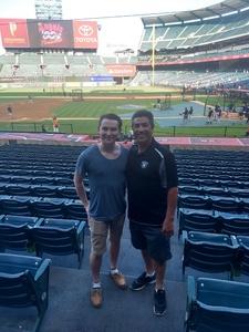 Lou attended Los Angeles Angels vs. Colorado Rockies - MLB on Aug 27th 2018 via VetTix