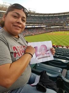 christina attended Los Angeles Angels vs. Colorado Rockies - MLB on Aug 27th 2018 via VetTix