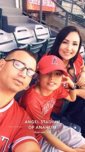 Rodrigo attended Los Angeles Angels vs. Colorado Rockies - MLB on Aug 27th 2018 via VetTix
