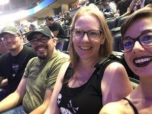 Michael attended Marilyn Manson/rob Zombie Denver Pepsi Center on Aug 20th 2018 via VetTix