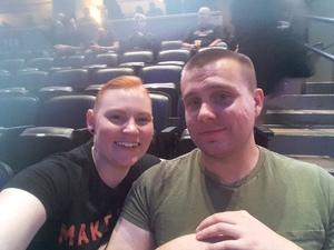 Marie attended Marilyn Manson/rob Zombie Denver Pepsi Center on Aug 20th 2018 via VetTix