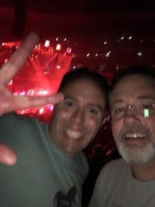Robert attended Marilyn Manson/rob Zombie Denver Pepsi Center on Aug 20th 2018 via VetTix