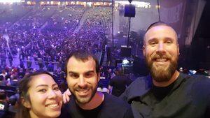 Ryan attended Marilyn Manson/rob Zombie Denver Pepsi Center on Aug 20th 2018 via VetTix