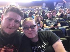 Jessica attended Marilyn Manson/rob Zombie Denver Pepsi Center on Aug 20th 2018 via VetTix
