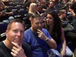Jason attended Marilyn Manson/rob Zombie Denver Pepsi Center on Aug 20th 2018 via VetTix