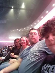 brett attended Marilyn Manson/rob Zombie Denver Pepsi Center on Aug 20th 2018 via VetTix