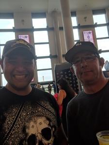 David attended Marilyn Manson/rob Zombie Denver Pepsi Center on Aug 20th 2018 via VetTix