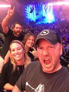 Kyle attended Marilyn Manson/rob Zombie Denver Pepsi Center on Aug 20th 2018 via VetTix