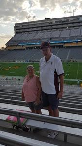 Charles attended Arizona State University Sun Devils vs. UTSA - NCAA Football on Sep 1st 2018 via VetTix