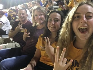 Stephen attended Arizona State University Sun Devils vs. UTSA - NCAA Football on Sep 1st 2018 via VetTix