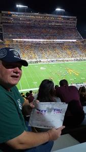 James attended Arizona State University Sun Devils vs. UTSA - NCAA Football on Sep 1st 2018 via VetTix