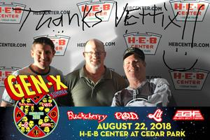 Birddog attended Loudwire's Gen X Summer - Buckcherry - P. O. D. - Lit and Alien Ant Farm on Aug 22nd 2018 via VetTix