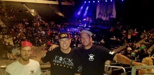 Lawrence attended Loudwire's Gen X Summer - Buckcherry - P. O. D. - Lit and Alien Ant Farm on Aug 22nd 2018 via VetTix
