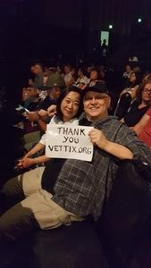 Joe attended Lionel Ritchie - Saturday on Aug 18th 2018 via VetTix