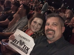 Brian attended Lionel Ritchie - Saturday on Aug 18th 2018 via VetTix