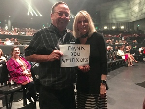 Gordon attended Lionel Ritchie - Saturday on Aug 18th 2018 via VetTix