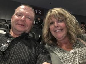 Gary attended Sam Smith 8/21 at Pepsi Center in Denver on Aug 21st 2018 via VetTix
