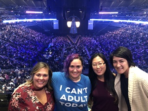 Jennifer attended Sam Smith 8/21 at Pepsi Center in Denver on Aug 21st 2018 via VetTix