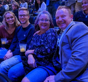 Carr Clan attended Sam Smith 8/21 at Pepsi Center in Denver on Aug 21st 2018 via VetTix