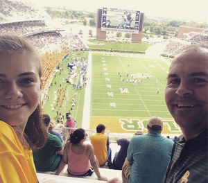 Tim attended Baylor University Bears vs. Duke - NCAA Football on Sep 15th 2018 via VetTix