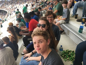 Christopher attended Baylor University Bears vs. Duke - NCAA Football on Sep 15th 2018 via VetTix