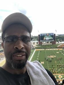 Kevin attended Baylor University Bears vs. Duke - NCAA Football on Sep 15th 2018 via VetTix