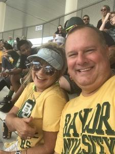 Baylor Fun attended Baylor University Bears vs. Duke - NCAA Football on Sep 15th 2018 via VetTix