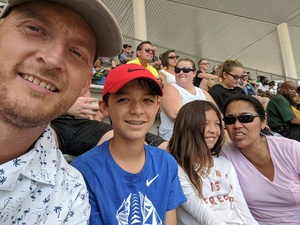 Ronald attended Baylor University Bears vs. Duke - NCAA Football on Sep 15th 2018 via VetTix