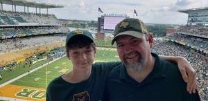 Jerry attended Baylor University Bears vs. Duke - NCAA Football on Sep 15th 2018 via VetTix