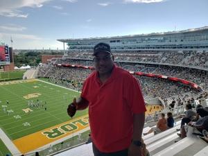 Robert attended Baylor University Bears vs. Kansas State - NCAA Football on Oct 6th 2018 via VetTix