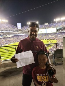 Click To Read More Feedback from Baltimore Ravens vs. Washington Redskins - NFL