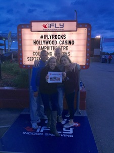 Amanda attended Counting Crows With Special Guest +live+: 25 Years and Counting - Alternative Rock on Sep 8th 2018 via VetTix