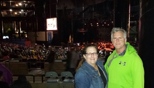 Monica attended Counting Crows With Special Guest +live+: 25 Years and Counting - Alternative Rock on Sep 8th 2018 via VetTix