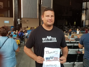 Thomas attended Counting Crows With Special Guest +live+: 25 Years and Counting - Alternative Rock on Sep 8th 2018 via VetTix