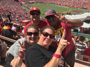 Ruben attended USC Trojans vs. UNLV - NCAA Football on Sep 1st 2018 via VetTix