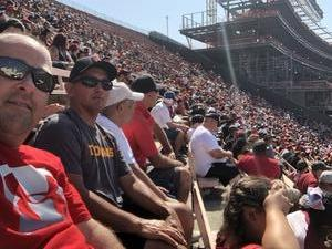 David attended USC Trojans vs. UNLV - NCAA Football on Sep 1st 2018 via VetTix