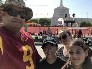 Roberto attended USC Trojans vs. UNLV - NCAA Football on Sep 1st 2018 via VetTix