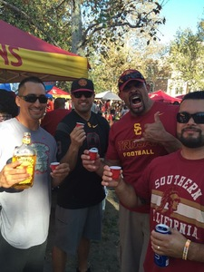 Jesse attended USC Trojans vs. UNLV - NCAA Football on Sep 1st 2018 via VetTix