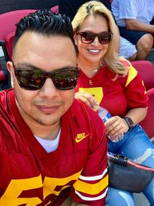 Abraham attended USC Trojans vs. UNLV - NCAA Football on Sep 1st 2018 via VetTix