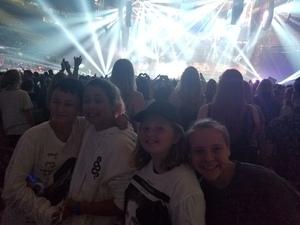 Thomas attended Taylor Swift Reputation Tour on Sep 1st 2018 via VetTix
