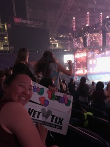 Mary attended Taylor Swift Reputation Tour on Sep 1st 2018 via VetTix